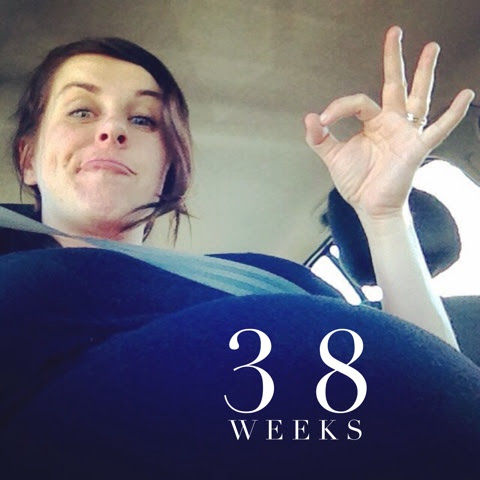 What it's really like to be 38 weeks pregnant