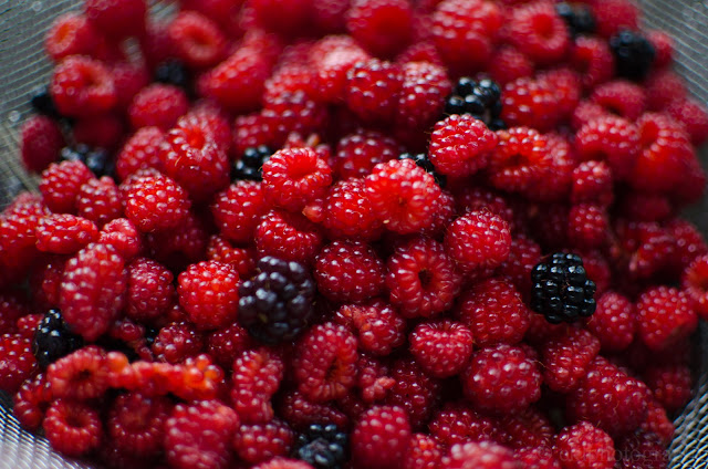pie, berries, fresh, handpicked, appalachians, shenandoah, wineberries, blackberries