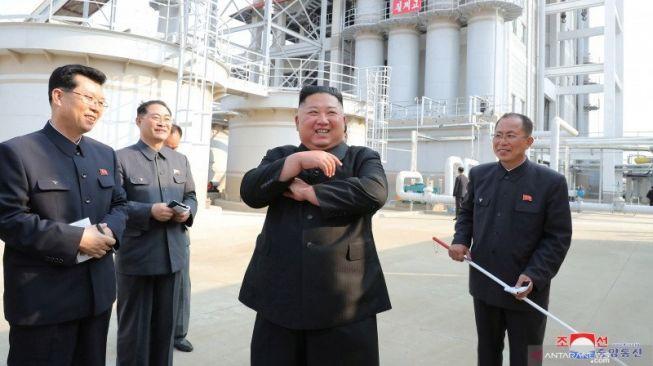 Beredar Kabar Kim Jong-Un Koma, Situs Aneh Muncul di Korea Utara