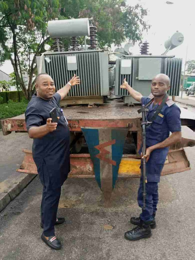 Cross River Govt impounded 3 trucks with over 40 transformers