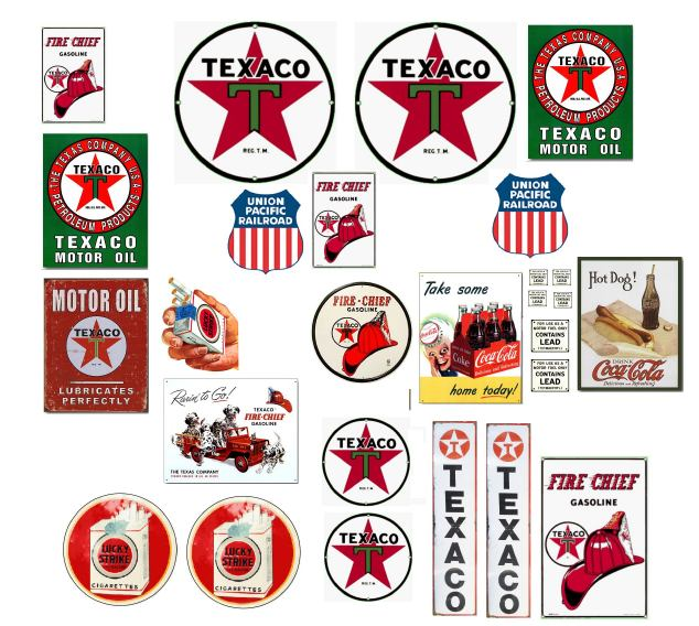 History of All Logos: All Texaco Logos