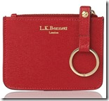 LK Bennett Red Leather Purse