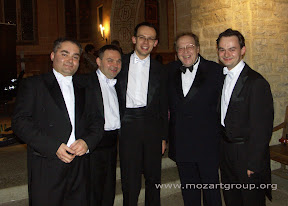 MozART group and Grigori Zhislin in Gstaad