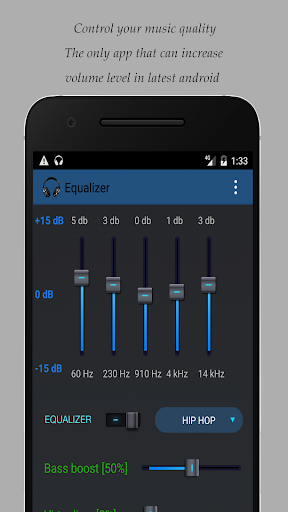 Equalizer for Samsung devices 2.9 screenshots 1