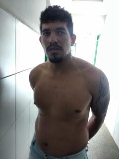 PRESO HOMEM ACUSADO DE TER ARROMBADO E FURTADO COMÉRCIO EM TAMBORIL