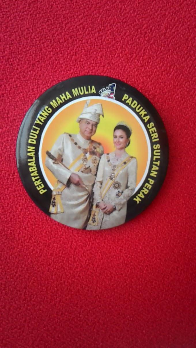 Pertabalan Sultan Perak Ke-35