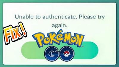 ya meskipun kepopuleran tersebut sudah mulai memudar ketika ini Cara Mengatasi Unable to Authenticate di Pokemon Go
