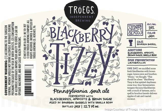 Troegs - Blackberry Tizzy Coming To Splinter Series