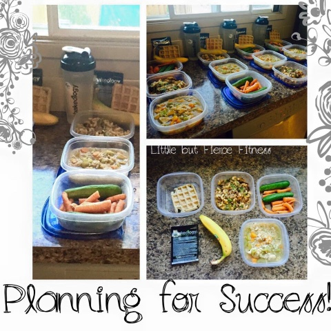 Little but Fierce Fitness: Meal Planning- P90x3 or 21 Day Fix