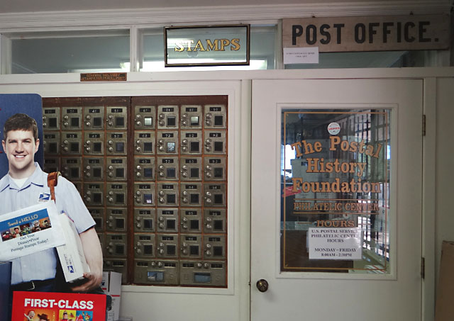 Postal History Foundation post office entrance