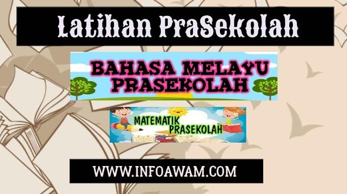 Latihan Prasekolah | Bahasa Malaysia | Matematik