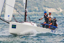 "J/70 one-design sailboat- ""north sails"""