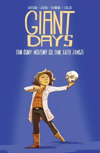 Giant Days tom 8 okładka