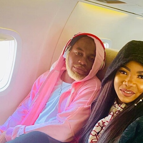 Slimcase & Tacha Spark Dating Rumors As They Chill Together On A Private Plane