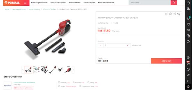 Vacuum murah