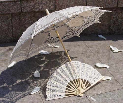 Parasol hand fan