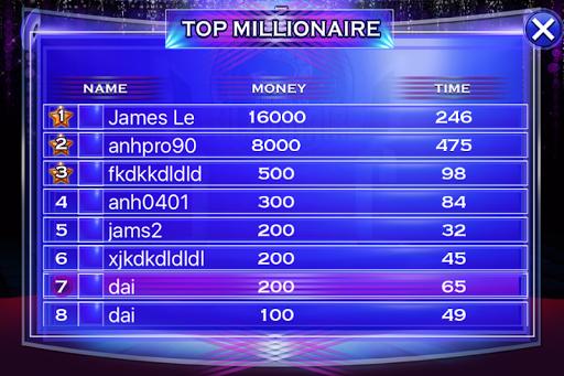 Millionaire Quiz 2018 - Trivia Game Free 2.3 screenshots 6