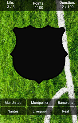 Guess the Football club logo ! - screenshot