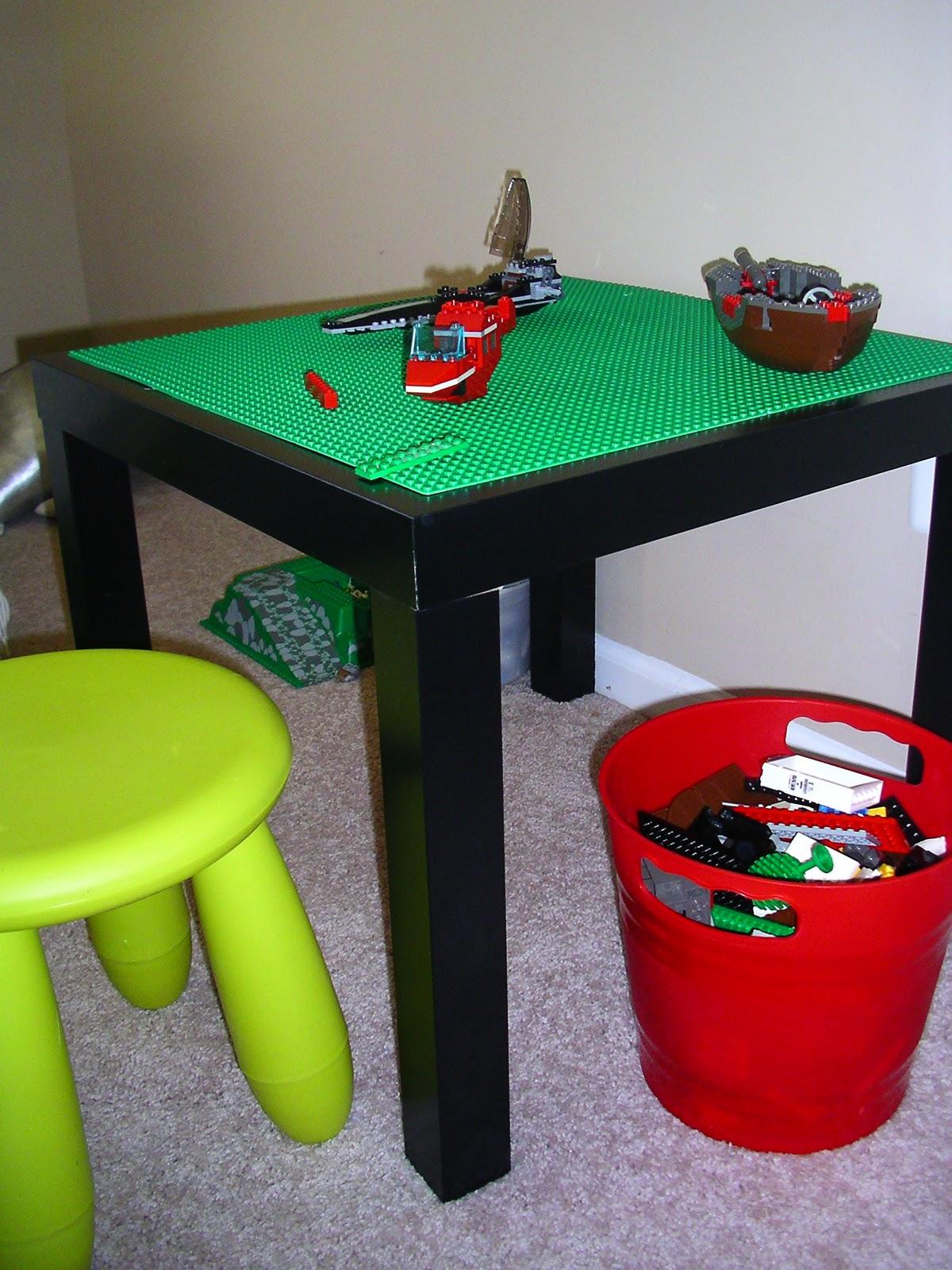 the art teacher 39 s closet diy inspiration lego table. Black Bedroom Furniture Sets. Home Design Ideas