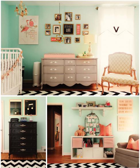cardigan junkie: To be fair... Modern Baby Girl Nursery