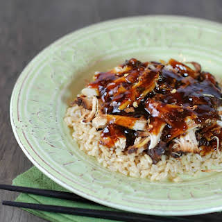 Slow Cooker Sweet & Tangy Chicken.