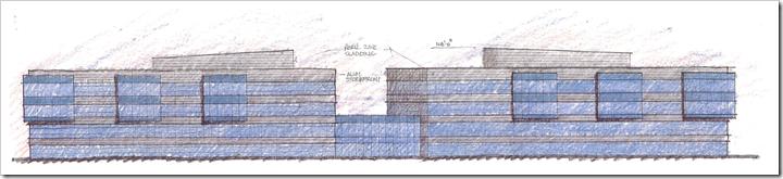建筑师'S alcestry.com总部建筑物的渲染