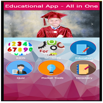Educational App - All in One