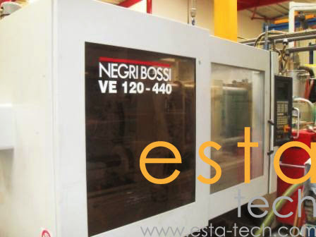 Negri Bossi Ve120 440 2004 Electric Injection Moulding