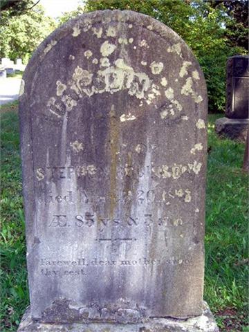 Robinson Caroline Overton grave