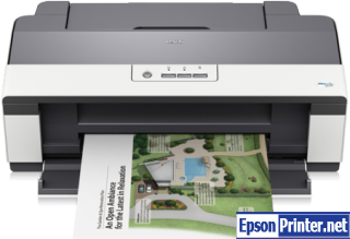 How to reset Epson B1100 with software