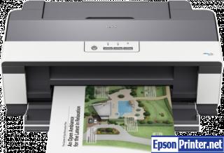 How to reset Epson B1100 printer