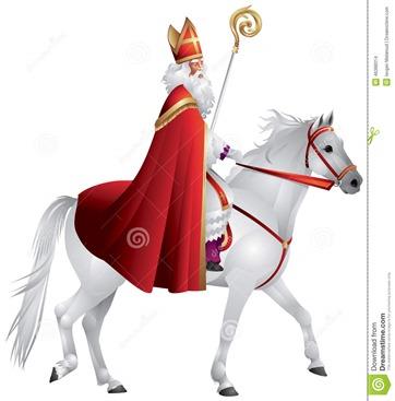 Nikolaus on horse