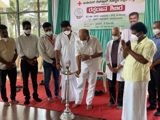 Blood Donation Camp- ಮಂಗಳೂರು: ಕಾಂಗ್ರೆಸ್ ಕಾರ್ಮಿಕ ವಿಭಾಗದಿಂದ ರಕ್ತದಾನ ಶಿಬಿರ