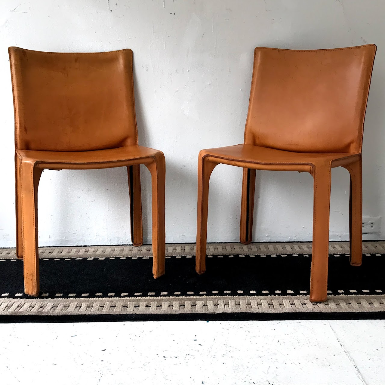 Stupendous Cassina Leather Cab Dining Chair Pair Shophousingworks Ocoug Best Dining Table And Chair Ideas Images Ocougorg
