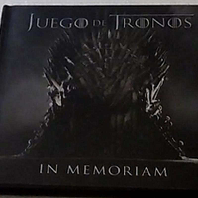 Foto Reseña | Juego de Tronos, In Memoriam | Ediciones Urano