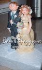 Свадебная фигурка из марципана