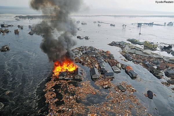 Tsunami, o catastrófico espetáculo da natureza
