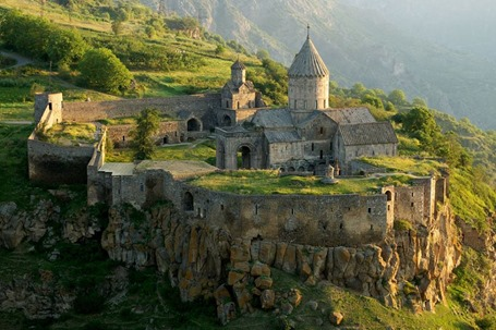 The Tatev Monastery in ArmeniaDated IX Century AD. Credit Alexander Naumov.