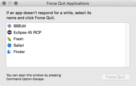 Eclipse Force Quit 2