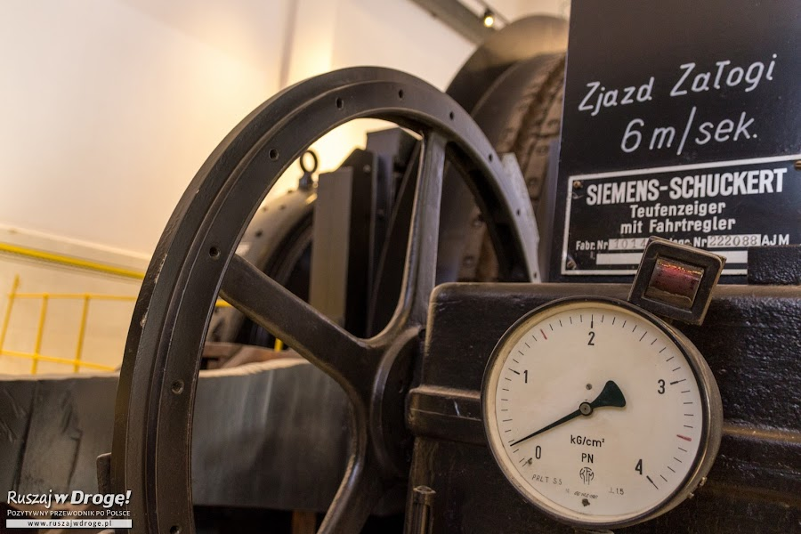 Stara Kopalnia w Wałbrzychu - maszynownia