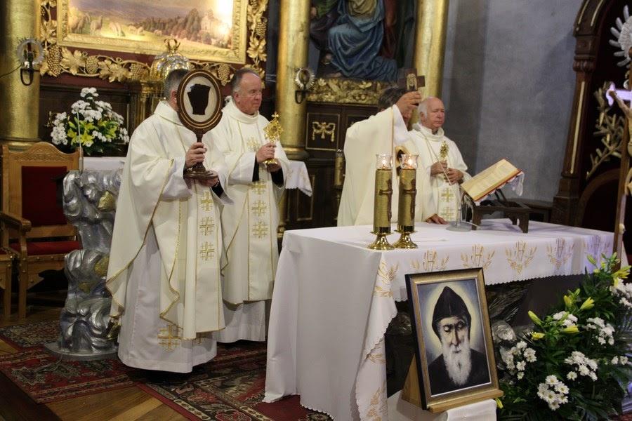 Z relikwiami św. O.Pio w Istebnej - IMG_3489.JPG