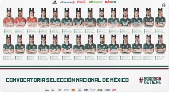 Mexico-18-preseleccionados