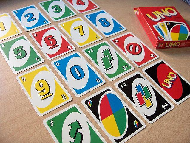Bộ đồ chơi Thẻ Bài Uno Card Game Mattel