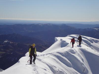 Peña Ubiña. curso Alpinismo avanzado