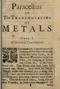 The Transmutation of Metals