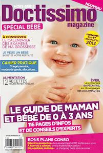 838badeb9de12 Doctissimo lance un magazine papier Spécial Bébé : chapitre je l'éveille au  goût - Cubes & Petits pois
