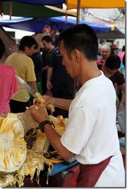 Chowrasta wet market, Penang