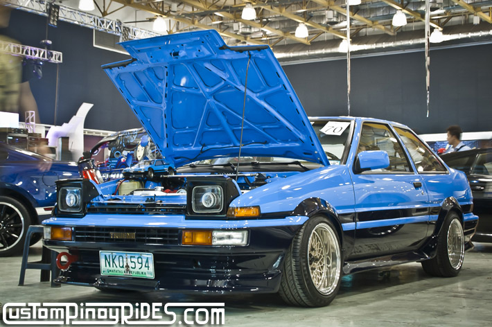 Toyota Corolla AE86 Trueno Coupe by Toycool Garage Custom Pinoy Rides pic1