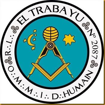 Logo¡tipo de la logia El Trabayu