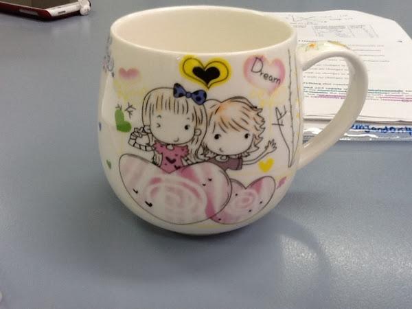 Current study mode & Cute little mug!